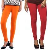 VP Vill Parko Women's Red, Orange Leggin...