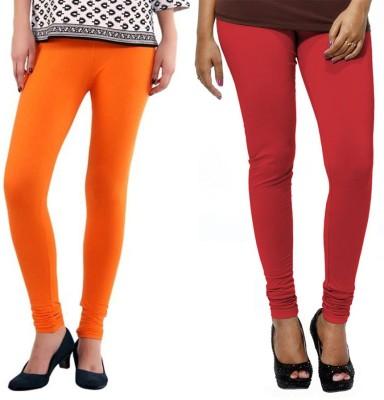 VP Vill Parko Women's Red, Orange Leggings