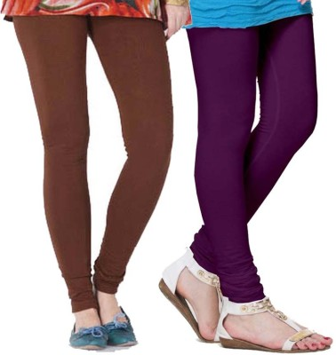 FRONEX INDIA Women's Purple, Brown Leggings