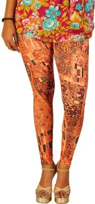 Berries Women's Orange, Multicolor Leggings