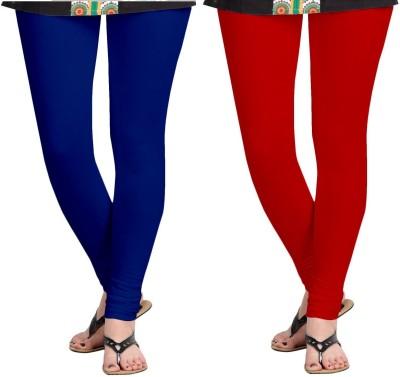 ZACHARIAS Women's Blue, Red Leggings