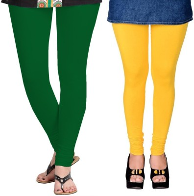 ZACHARIAS Women's Green, Yellow Leggings