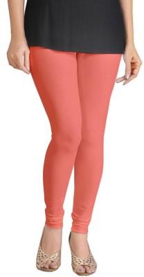 Miss Charming Women,s Orange Leggings