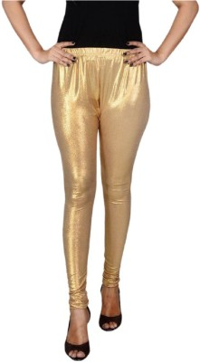 Aanchal Women's Gold Leggings