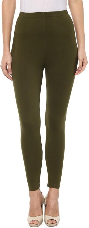 Sakhi Sang Women's Dark Green Leggings