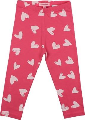 Crayon Flakes Baby Girl's Pink Leggings