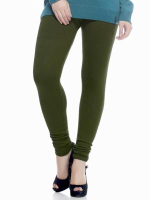Mount Beauty Women's Green Leggings