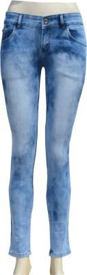 Pink Zone Slim Fit Women,s Blue Jeans