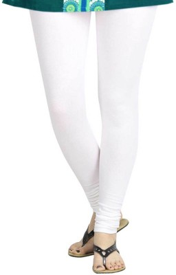 TBZ Women's White Leggings