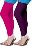 Fronex India Women's Purple, Pink Leggin...