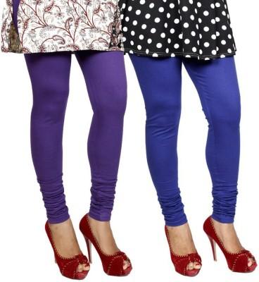 divine creations Women,s Purple, Blue Leggings