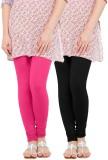 WellFitLook Women's Pink, Black Leggings...