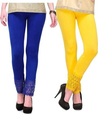 MDS Jeans Women's Yellow, Blue Leggings