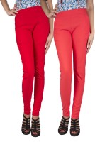 iHeart Women's Red, Pink Jeggings best price on Flipkart @ Rs. 749