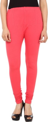 GudLuk Women's Pink Leggings