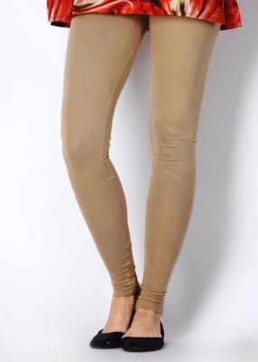 Sudharaj Women's Beige Leggings