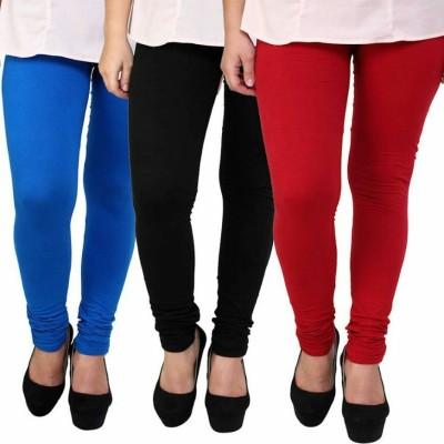 Facere Girl's Multicolor Leggings
