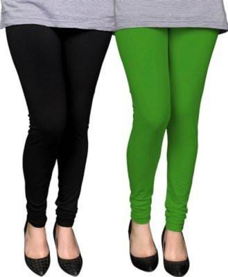Abito Juniors Women's Green, Black Leggings