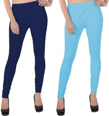 X-Cross Women's Dark Blue, Light Blue Leggings