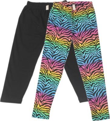 Fiore Girl's Multicolor Leggings