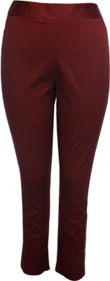 Tryfa Women's Brown Jeggings
