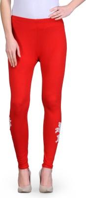Vinnis Women's Red Leggings