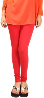 HAPPYSHOPP Women's Orange Leggings