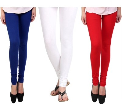 Vastra Buzz Women's Red, White, Dark Blue Leggings