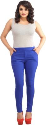 Guru Nanak Fashions Women's Blue Jeggings