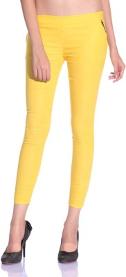 SNP Creations Women's Yellow Jeggings