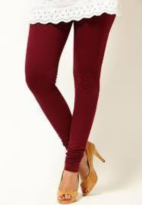 POSE Women,s Maroon Leggings