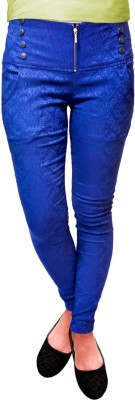 Vogue4all Women's Dark Blue Jeggings