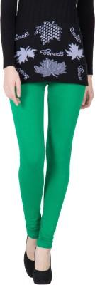 VERMELLO Women's Green Leggings