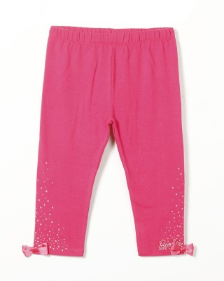 Barbie Girl's Pink Leggings