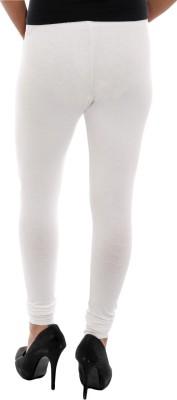 Paulzi Women's White, Pink Leggings