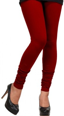 vivancreation Girl's Red Leggings