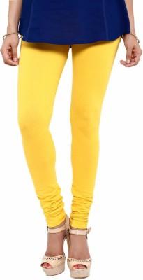 Mytri Women's Yellow Leggings