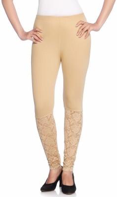 Vanita Women's Brown Leggings