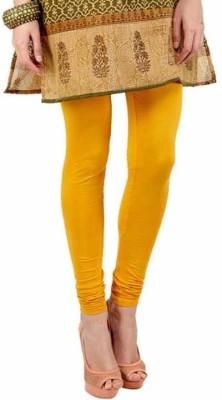 Shiv Fabs Women,s Yellow Leggings