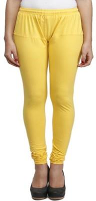 lycra Women's Yellow Leggings