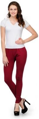 Oleva Women,s Red Leggings