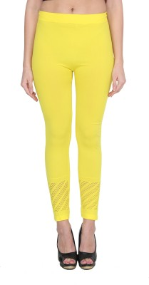 NumBrave Women's Yellow Leggings