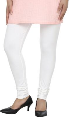 Dlina Women's White Leggings