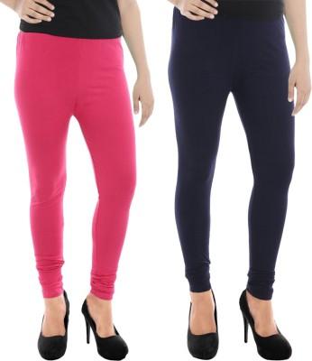 Paulzi Women's Pink, Blue Leggings