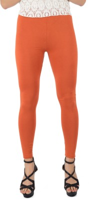 Legrisa Fashion Women's Orange Leggings