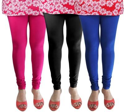 Green Zone Women's Pink, Black, Dark Blue Leggings