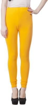 JUST CLIKK Women's Yellow Leggings