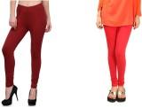 Yaari Women's Multicolor Leggings (Pack ...