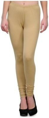 Edge Plus Women's Beige Leggings