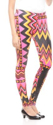 Global Trendz Women,s Multicolor Leggings